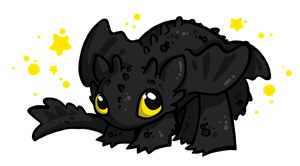 Toothless the Night Fury by p-korle