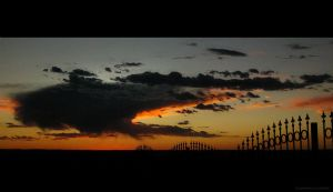 New Mexico, by night ABQ by Artumus-Gonzo