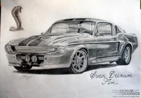 Shelby GT-500 Eleanor by SD1-art