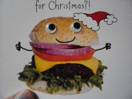 Christmas Card From My Sister by DazzyADeviant
