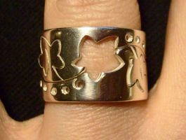 Ivy puzzle ring by fairyfrog