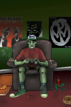Eric the Zombie by Psychoead
