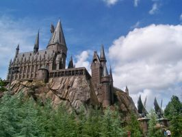 Hogwarts Castle by SailorEarth89