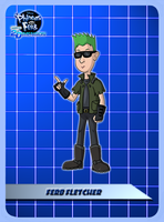PnF-AtSD: Ferb Fletcher by ToonYoungster