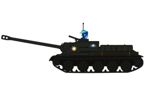 Night Surfer find SU-100 by DolphinFox