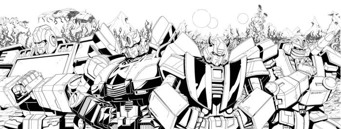 TF RID issue 1 inks by MarceloMatere