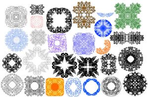 Patterns for Fun 02 by Spirallee