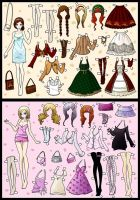 dress up dolls pt.2 by CooLtshuck