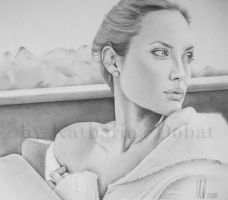 Angelina Jolie by KatharinaD