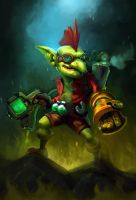 The Poison-Thrower Goblin by tnkgaby