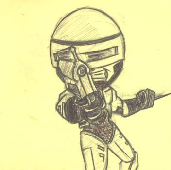 RoboCop by SkinnyKidDisease