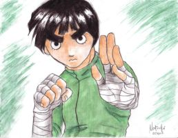 doryoku no tensai - rock lee by bluestraggler