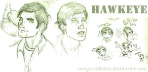 Hawkeye by IndyScribbable