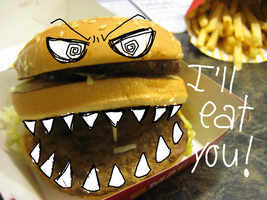 Angry Burger by Hynato-Shina