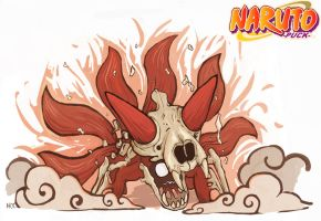 Naruto's 6 Tails by Harry-Yu