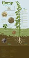 Hemp Know More Use More by SuperFlee