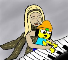 Keyboard Parappa by pelle131313