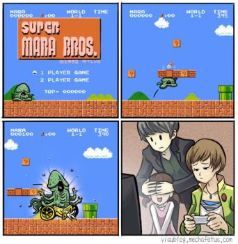 Super Mara Brothers by PersonaSama
