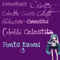 Fonts by Azuliita