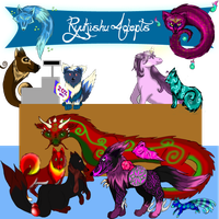 RyuKishu Adopts by GrimmXD-Adopts