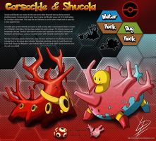 Corsockle and Shucola- fan evolution concepts by xXLightsourceXx
