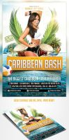 Caribbean Party Flyer Template by saltshaker911