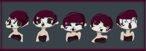 Missy's Expressions by Dil3mma