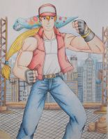 Terry Bogard by Freddy-Kun-11