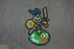 Slime Knight Perler by evilpika