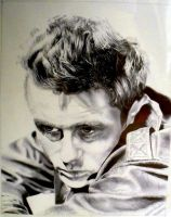 James Dean ballpoint pen by kc7655