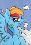 Rainbow Dash Portrait (for sale) by CutePencilCase