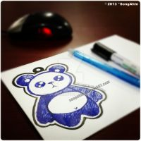 Panda Sketch by SongAhIn