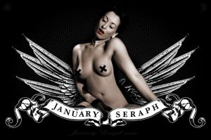 January Seraph Myspace Graphic by cynicdesign