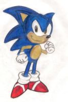 old version of sonic by trogdor324