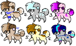 Dog Adoptables OPEN by ShinAdopts