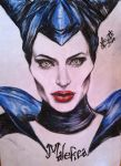 Maleficent portrait by anemchan by anemchan41191