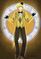 Human Bill Cipher by BroccoliEmiley