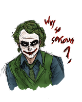 Why so serious? by LunaHermione