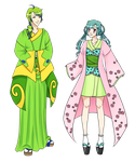 Guys We look good in Kimono by Seigana