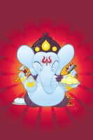 Ganesha by WarBrown
