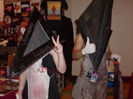 Pyramid Head Cosplay 2 by Dragon-of-Darkness22