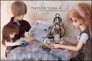 Breaking fast by yenna-photo