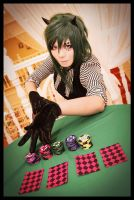 Vocaloid Poker Face - Gumi by mollyeberwein