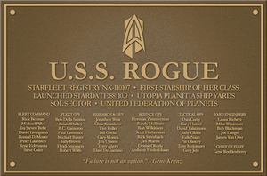 USS Rogue Plaque 2.0 by kevmascolcha