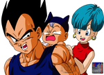 Family Vegeta .:Lineart54:. Color by PrinzVegeta