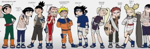 Artrix's take on Naruto by TheArtrix