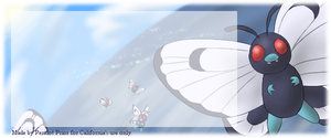Butterfree Signature for California by Brookreed