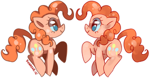 PINKIE HAS BEEN DOUBLED by Kunaike