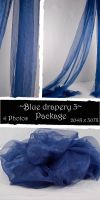 Blue drapery Package 3 by almudena-stock