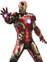 Iron Man Avengers Age of Ultron Render by sachso74